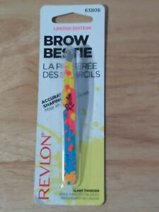 Revlon Limited Edition Brow Bestie Slant Tweezer = Splash Design   New