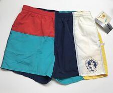 5e89a4ef43 Vintage Jantzen Color Block Swim Trunks Rare Lined Size XL Global Sailing  Shorts