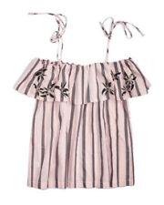 Vêtements chemisiers roses pour femme