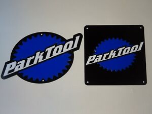 Park Tool, Park Tools, X2 Acrylic Cycling Signs, 250mm Shaped & 190mm Square.