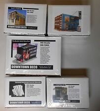 Downtown Deco HO Scale Bad Part of Town 4 Kit Combo! Tattoos, Liquor Save $100!
