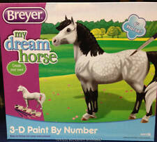Breyer Collectable Models My Dream Horse Dapple Gray Pony 3-d Paint
