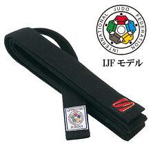 Kusakura Japan Judo Black Kuro Obi Belt Ijf Official Joxb judogi 13 sewing Model