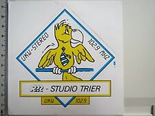 Adesivo sticker RPR studio Treviri-Radio-Radio FM Stereo (m1298)