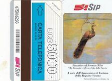 ITALY -TURISTICA -PIAZZOLE-- -RITIRATA-PK £5000- CODICE LUNGO-N.206A-SMAGN.