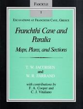 Franchthi Cave and Paralia: Maps, Plans, and Sections, Fascicle 1, Excavations a