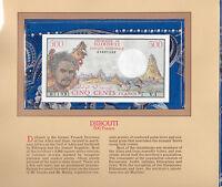 Most Treasured Banknotes Djibouti 1979 500 Francs P-36a UNC V.1 2007 Birthday