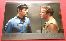 "STAR TREK TOS 50th Anniversary - MM24 ""MIRROR, MIRROR"" (uncut) - Foil Chase Card"