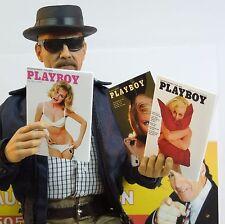 1/6 Scale Vietnam Era Playboy Magazines Pack 2 - set of 3 magazines