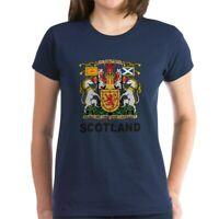 CafePress Scotland Women's Dark T Shirt Women's Cotton T-Shirt (385206669)