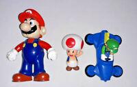 Lot of Nintendo Super Mario Bros and Luigi Mini Figure Mushroom Figurine