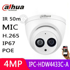 Dahua 4MP POE IPC-HDW4433C-A HD IP Built-in MIC H.265 IR 2.8mm CCTV Dome Camera