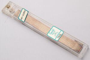 Vintage Original Gold Tone Speidel Twist-o-Flex Watch Band 1508/12!