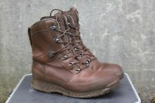 More details for genuine surplus british forces haix brown gore-tex lined boots leather & textile