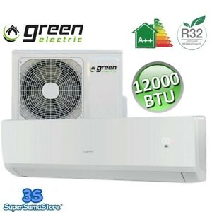 3S CLIMATISEUR GREEN ELECTRIC GE-35 R32 12000 BTU 3.5 KW 35m² INVERTER A++/A+