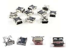 20 Pcs Mini USB Type B Female Port 5-Pin 5P 180 Degree SMD SMT PCB Jack Socket