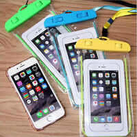 Fluorescence Waterproof Pouch Bag Case Cover For iPhone Samsung etc Cell Phones
