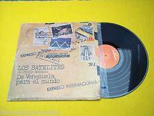 Satelites Cheche mendoza LP (G/VG) discomoda 1976 venezuela edit Ç