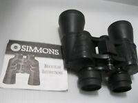 Simmons Redline Binoculars Model 801302 10X50 WA Coated Optics 367FT@1000 Yds.
