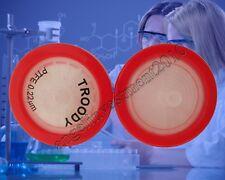 NEW 100pcs PTFE Syringe Filters 25mm 0.22um non-sterilized