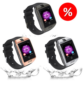 Smart Watch phone Bluetooth Waterproof for Android & iOS Camera Call SIM TF Card