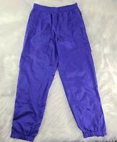 LL Bean Vintage Windbreaker Nylon Pants Medium M Purple FAST SHIPPING 💨