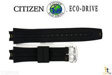 Citizen Eco-Drive BM6900-07E Original 23mm Black Rubber Watch Band CA0200-03E