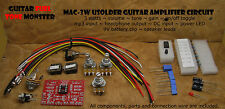TONE MONSTER MAC3W USOLDER Guitar Amp Circuit 3W Volume Tone Gain MP3 HDPH