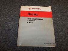 1979 Toyota Hi-Lux Pickup Truck Shop Service Repair Manual SR5 4x4 1.6L 2.0L