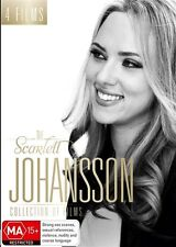Scarlett Johansson Collection Of Films (DVD,2017, 4-Disc Set) New & Sealed R4