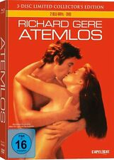 BLU-RAY  ATEMLOS -3-Disc Limited Collectors Edition Mediabook (mit Richard Gere)