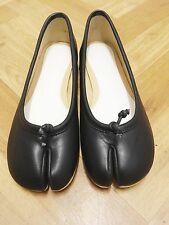 Tabi split toe ballerina shoe black 3.5 UK 36.5 EU
