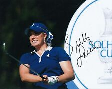 BRITTANY LINCICOME signed *LPGA* WOMEN'S GOLF 8X10 photo W/COA LONGEST DRIVE