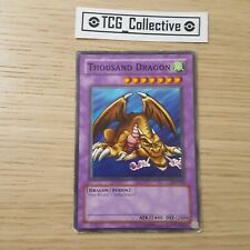 Thousand Dragon, Non Holo, Yugioh Card TCG, Unlimited, Rare