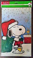 Snoopy & Woodstock / Peanuts - 3D Fensterbild Aufkleber Bild groß / Neu & OVP