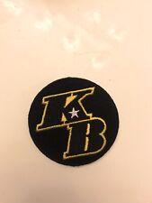 Official Kobe Bryant Jersey Patch KB