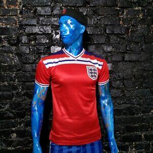 England Team Jersey Retro Replicas shirt 1980 - 1983 Score Draw Mens Size S