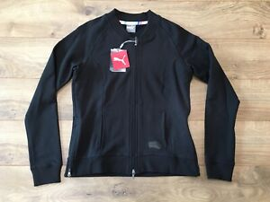 2020 Puma Women's Bomber Full Zip Jacket Black SZ Small ( 595845 01 )