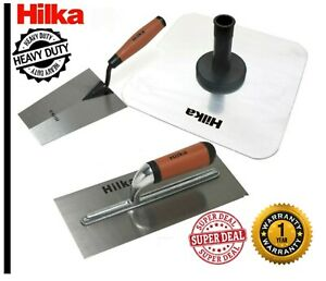 Stainless Steel Plastering Trowel & Aluminium Hawk,Plasterer Tool Discounted Set
