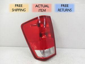 Halogen Tail Light Set For 2004-2011 Nissan Titan Clear//Red w// Bulbs 2Pcs CAPA