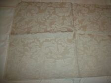 TAPESTRY / UPHOLSTERY  FABRIC 1 PIECE 1/2 YARD IVORY FLORAL DESIGN !!!  NEW