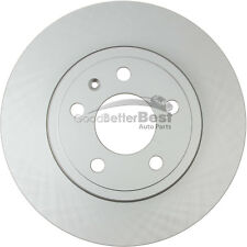 One New OPparts Platinum Disc Brake Rotor Rear 40254046 for Audi A4 A4 Quattro