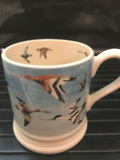 Rare Emma Bridgewater Flying Waders Flying Birds Collection, Half Pint Mug.