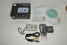 Nikon Coolpix S3300 16.0 MP 6.0x Optical Zoom Lens Silver