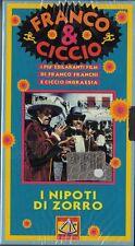 FRANCO E CICCIO - I NIPOTI DI ZORRO (1968) VHS NUOVO E SIGILLATO