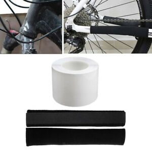 Premium Bike Frame Protection Tape Transparent Stickers Chain Stay Protector