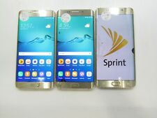 Lot of 3 Samsung Galaxy S6 Edge Plus G928P Sprint 64GB Check IMEI PR AD-591
