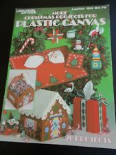 More Christmas Projects For Plastic Canvas Leaflet 194 - Leisure Arts