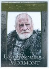 """LORD COMMANDER MORMONT """"GOLD BASE CARD #49 #079/150"""" GAME OF THRONES SEASON 3"""