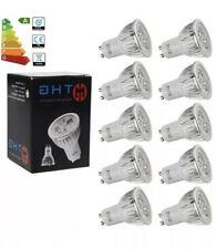 M6W GU10 LED Spotlight Bulbs. 50W Halogen Lamp Warm White. New